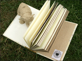 Elephant Poo Paper Notebooks from Haathi Chaap